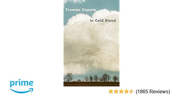 in cold blood important events