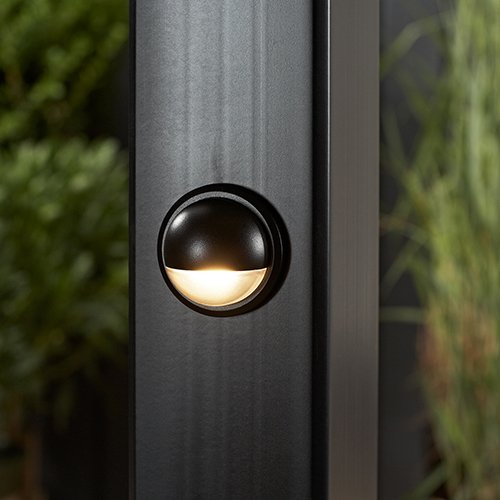 LED Post Lamp- Charcoal Black, BKLAMPLEDC by TREX (Image #1)