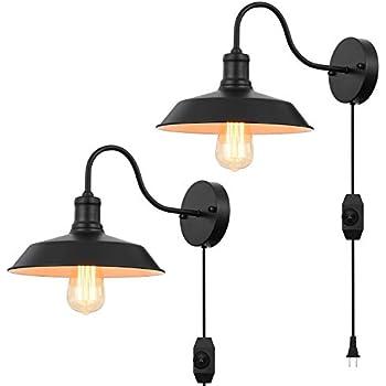 Amazon.com: Kingmi - Lámpara de pared regulable de color ...