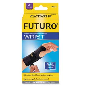 Futuro Energizing Wrist Support, Left, Large/X-Large