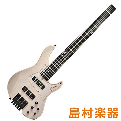 Bacchus WOODLINE5-HL24/Fuyuzakura-MF'18 SWP Sakura White Pearl エレキベース ハンドメイドシリーズ バッカス   B07KLRVB69