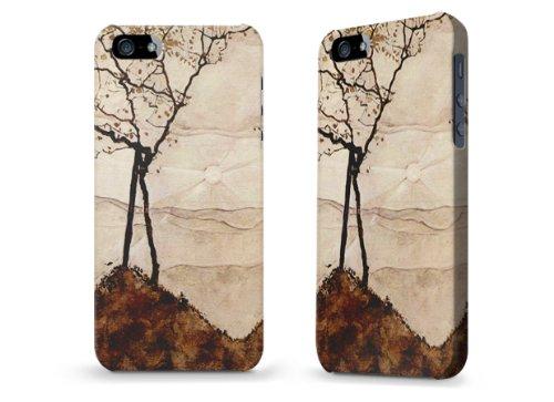 """Hülle / Case / Cover für iPhone 5 und 5s - """"Autumn Sun"""" von Egon Schiele"""