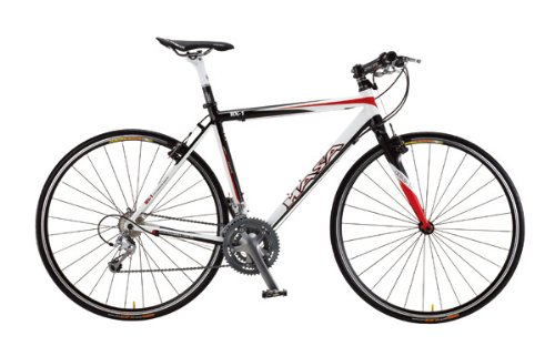 2012 HASA Shimano 105 Carbon Flat Bar Road Bike 56cm | Road Bikes ...