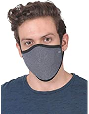 6 Layered Mask, Reusable & washable mask, For Adult, Men & Women, Elastic Earloop & Triple Filtration System, Comfortable & Easy to Wear, Unique design for Summer comfort