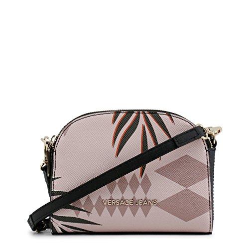 £168 Versace Genuine RRP Women Bag Jeans Cross 00 Designer Body Crossbody Pink Bag 11aFTf
