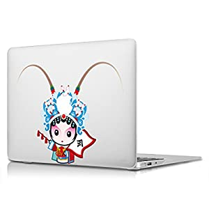 "MacBook 13"" 15"" Sticker,AKPATI Cool Cartoon Removable Vinyl Decal Skin Non-full Screen Pattern for Laptop Apple MacBook Air/Pro/Pro Retina - Madam Blue"