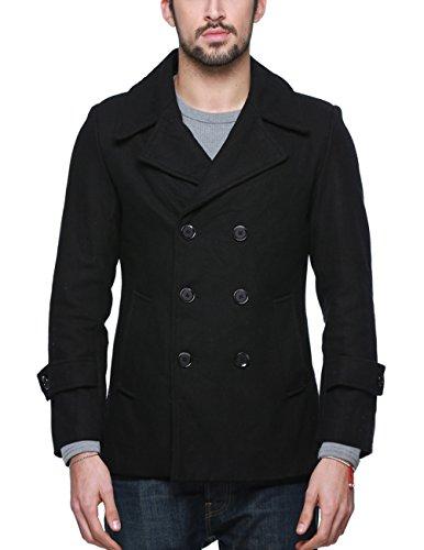 Navy Pea Coat - 3
