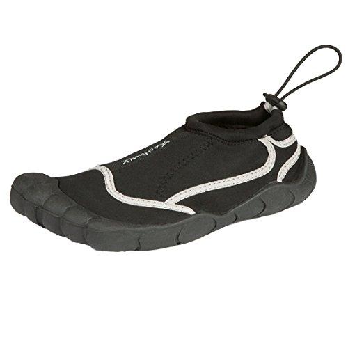Escarpines | zapatos de surf de neopreno de hombre | suela de goma antideslizante negro