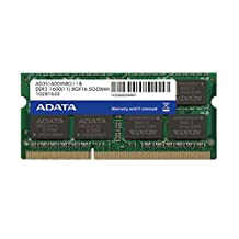 ADATA USA DDR3 1600 8GB 204-Pin SO-DIMM Premier Series Memory Module (PC3 12800) AD3S1600W8G11-S