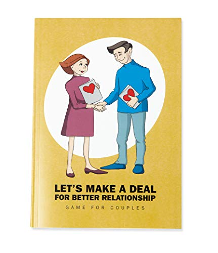 Game for Couples - Let's Make a Deal for Better Relationship: Therapy Board Game for Adults, Fun & Competitive, Focus & Motivation, Date Night ♥
