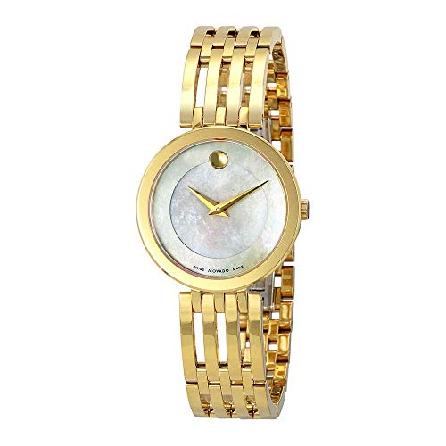 - Movado Women's Swiss Quartz and Stainless-Steel Casual Watch, Color:Gold-Toned (Model: 0607054)