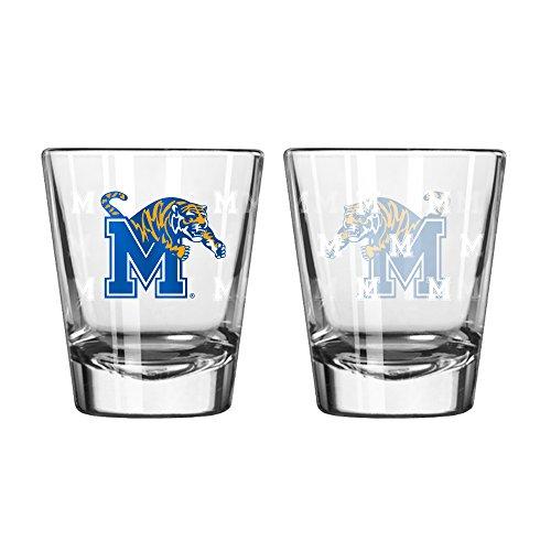 Memphis Tigers Shot Glass - 2 Pack Satin - Memphis Outlets
