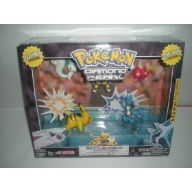 Pokemon Diamond & Pearl Value Pack with 6 Figures Electivire Lucario by Game Freak (Pokemon Lucario Pearl)