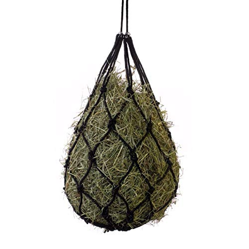 HORZE Cotton Hay Net - Black - One Size