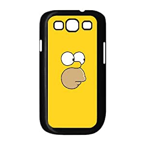 WJHSSB Diy case The Simpsons customized Hard Plastic Case For Samsung Galaxy S3 I9300 [Pattern-5]