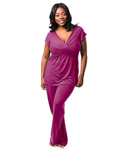 Kindred Bravely Davy Ultra Soft Maternity & Nursing Pajamas Sleepwear Set