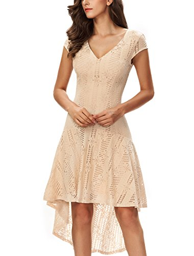 high low bodice dress - 1