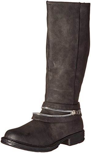 2 Lips Too Womens Find Harness Boot Black