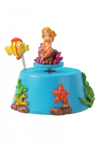 Musicbox World Mermaid joue le poisson clown Joue la mélodie «Its A Small World 27023