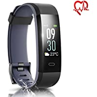 HQBEi I5 Fitness and Activity Tracker with Heart Rate Monitor (Several Colors)