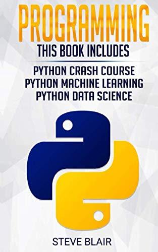 Programming: 3 Manuscripts Front Cover
