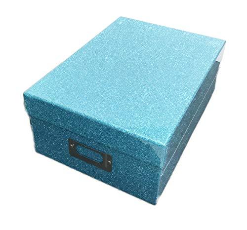 Park Lane Sparkle Glitter Memory Photo Decorative Storage Box -