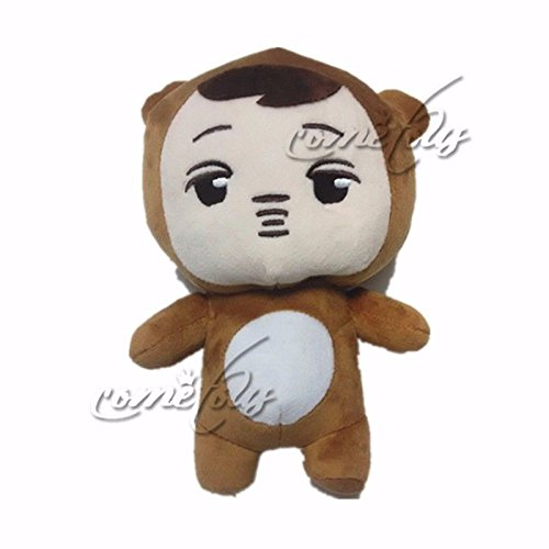 Kpop EXO XOXO Planet#2 Plush Toy Chanyeol Chen Kai Suho Sehun DO BaekHyun Dolls(E)