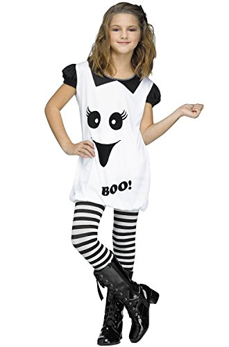 Little Ghost Girl Halloween Costume (Little Girls' Ghost Romper Outfit)