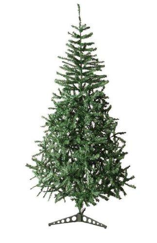 Sapin de Noël artificiel VERT 1M80 550 Branches: Amazon.fr ...