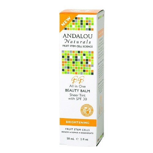 Andalou Naturals All in One Beauty Balm Sheer Tint SPF 30 2 fl oz (58 ml) by Andalou Naturals AB