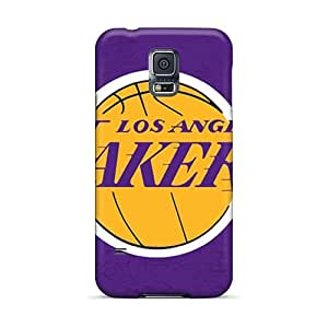 Excellent Hard Phone Case For Samsung Galaxy S5 With Unique Design Trendy Los Angeles Lakers Image AshtonWells
