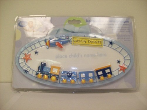 Our Little Explorer Train and Airplane K - Baby Name Plaques Shopping Results
