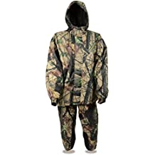 Milwaukee Leather Men's Jungle Camouflage Rain Suit High Performance Features (2X)