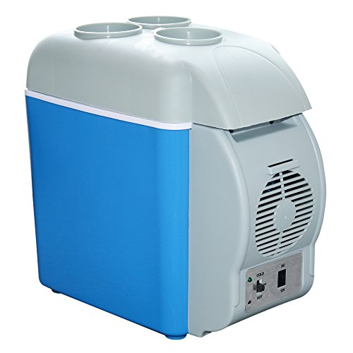 Lemorange 12V Portable Car Fridge Electric Thermoelectric Cooler Travel Refrigerator 7.5L 30 Min Fire Protection