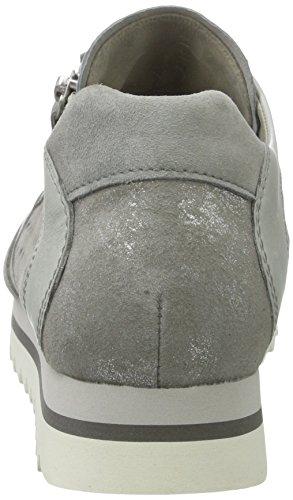 Gabor Damen Fashion Sneakers Grau (grau / Delfin / Stone 19)