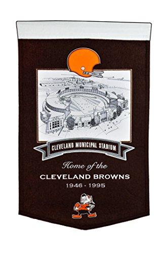 Winning Streak NFL Cleveland Browns Municipal Stadium Banner