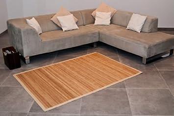 Unbekannt Bambusteppich Bambus Teppich Jmc005n 200x300cm Amazon De