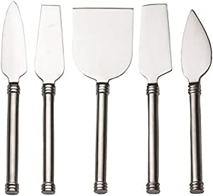 RSVP Endurance Stainless Steel Cheese Serving Knives, 5 Count (NIVE-5)
