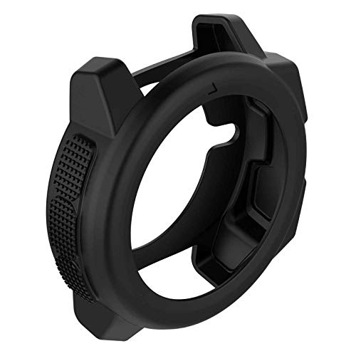 XBERSTAR Silicone Protector Case Cover Shell Skin Protected Case for Garmin Instinct Smart Watch