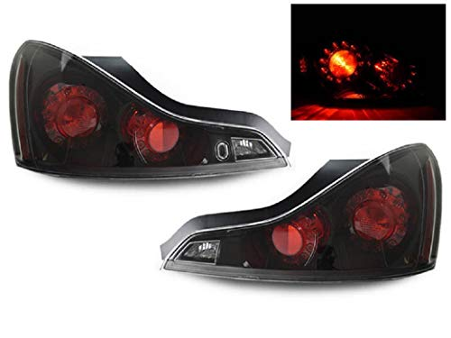 - DEPO JDM Black LED Rear Tail Light Compatible and Fits For 2008-2013 Infiniti G37 2D Coupe and 2014-2015 Q60 - Compatible and Fits for Infiniti
