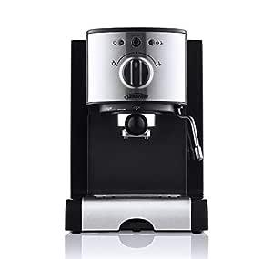 Sunbeam Piccolo Espresso, Black and Silver, EM2800