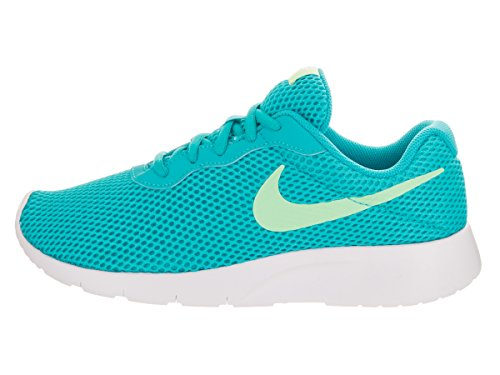 NIKE Kids Tanjun BR (GS) ChlorineBlue/FreshMint/White Running Shoe 4.5 Kids US by NIKE (Image #2)