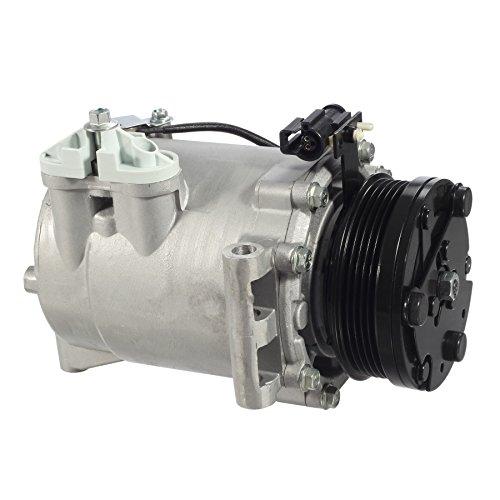 AUTEX AC Compressor & A/C Clutch CO 10861AC 78570 140286C Replacement for 2004 2005 2006 2007 Saturn Vue (Saturn Ac Compressors)