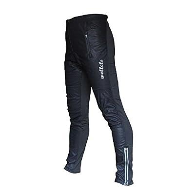 Wellcls Windproof Cycling Bike Bicycle Biking Fleece Winter Thermal 3D GEL Padded Pants
