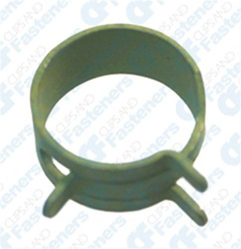 100 5/8'' Spring Action Hose Clamps Olive
