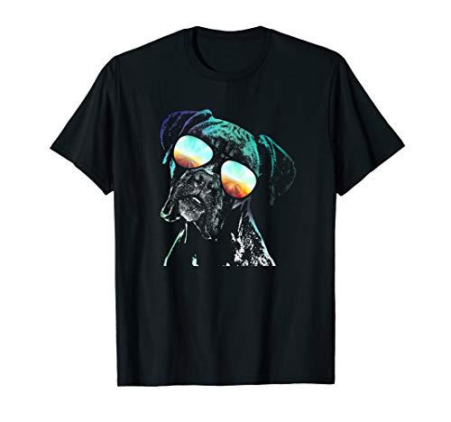 Boxer Neon Dog Shirt ()