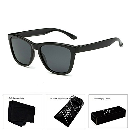 Teddith Polarized Sunglasses Gradient Plastic Frame - Sunglasses Men Online