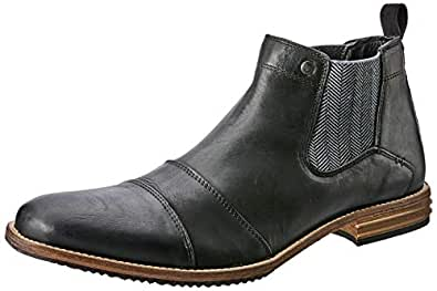 Wild Rhino Men's Jonah Boots, Black (Black), 40 EU
