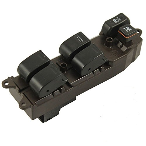 Toyota Corolla Window Switch (Eynpire 9031 Power Master Window Control Switch Front Left Driver Side For 2003-2008 Toyota Corolla)