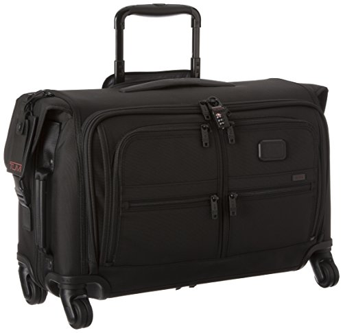Tumi Alpha 2 Carry-On 4 Wheel Garment Bag, Black, One Size